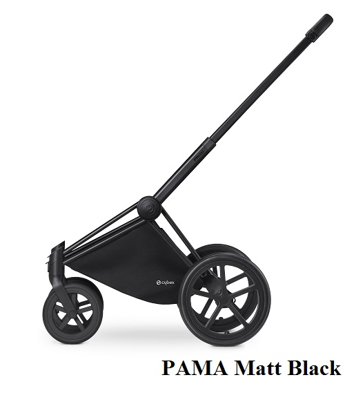 Cybex Priam Lux 2 в 1 All Terrain Matt Black