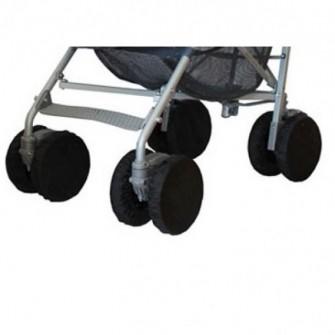Чехлы на колеса защитные для коляски трости