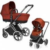 Cybex Priam Light 2 в 1 на раме Chrome Brown