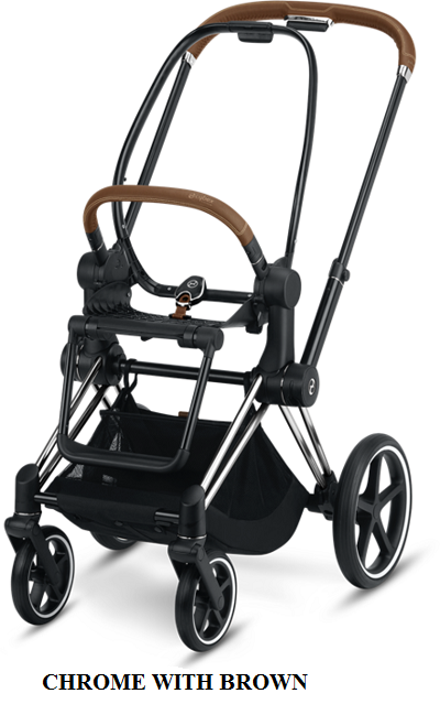 Cybex Priam 2019 chrome with brown details