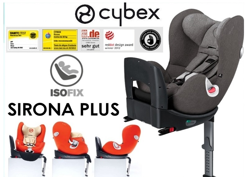 cybex sirona plus manhattan grey 2016